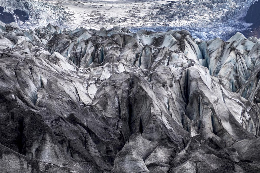 Der Gletscher_Skaftafelljökull © Philippe Beck