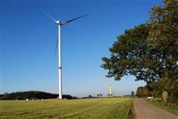 Errichtung der Windräder