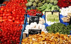Ostbelgien - Obst und Gemüse