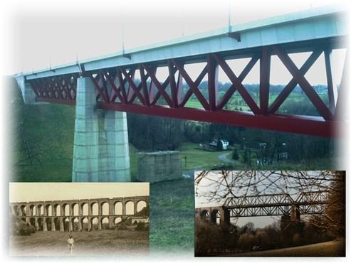 Hammerbrücke in 3 Epochen