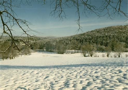 Winterblick ins Tal Prestert