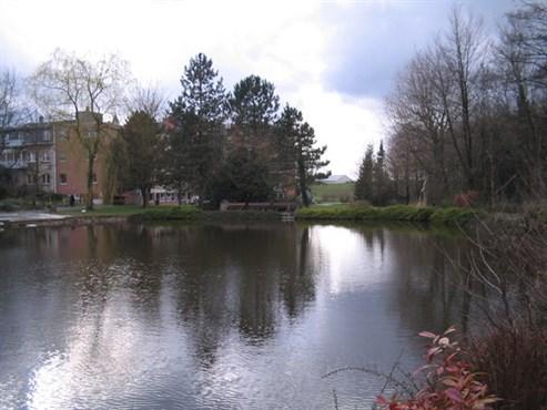 Marienheim mit Teich