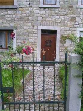 Eingang des Hauses Am Blar