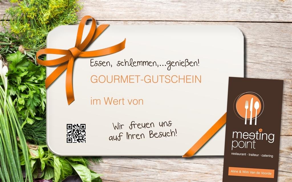 Ostbelgien.Net Gutschein - Meeting Point - L'Art Culinaire PGmbH