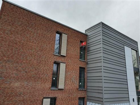 Barrierefreie, luxuriöse Neubauwohnung mit Tiefgarage, Aufzug und Sonnenterrasse am Eingangstor Eupens.