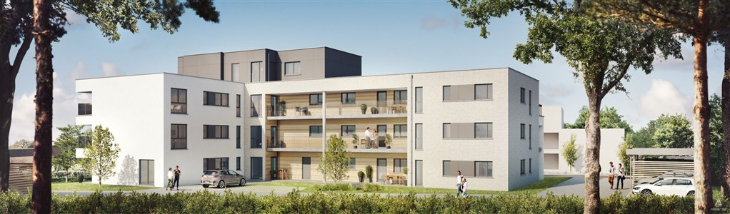 Moderne Wohnung in einer attraktiven Neuentwicklung - 4837 Baelen, Belgien