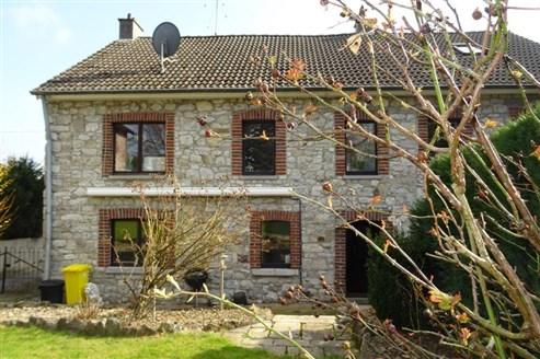 Reizendes Blausteinhaus mit viel Potenzial in ruhiger Seitenstraße mit schönem Garten in absoluter Grenznähe (B-D)