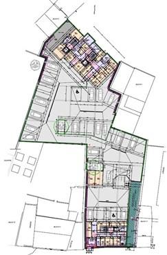 Residenz Lambertus Eupen - Hisselsgasse - 3. Etage - App.3.1 - 76,10 m² - 1 SZ