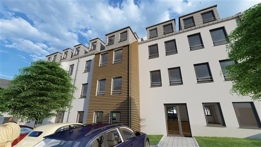 Residenz Lambertus Eupen - Hisselsgasse - 3. Etage - App.3.1 - 76,10 m² - 1 SZ - 4700 Eupen, Belgien