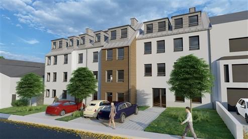 Residenz Lambertus Eupen - Hisselsgasse - 2. Etage - App.2.2 - 85,45 m² - 2 SZ