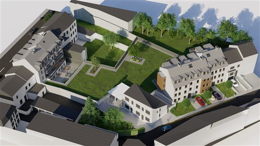 Residenz Lambertus Eupen - Hisselsgasse - 2. Etage - App.2.2 - 85,45 m² - 2 SZ - 4700 Eupen, Belgien