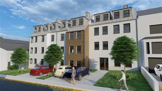 Residenz Lambertus Eupen - Hisselsgasse - Erdgeschoss - App.0.1 - 93,08 m² - 2 SZ - 4700 Eupen, Belgien