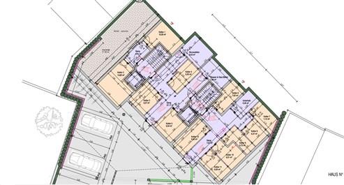 Residenz Lambertus Eupen - Hisselsgasse - 2. Etage - App.2.3 - 93,26 m² - 2 SZ