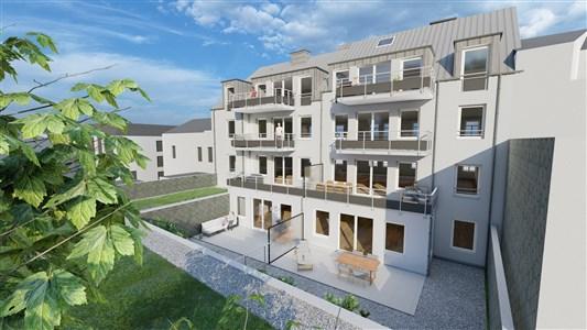 Residenz Lambertus Eupen - Hisselsgasse - 2. Etage - App.2.3 - 93,26 m² - 2 SZ - 4700 Eupen, Belgien
