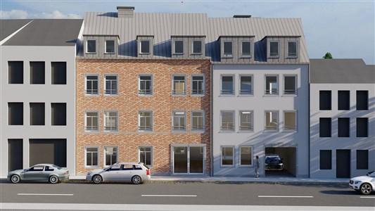 Neubau - Werthplatz-Hisselsgasse - App.2 SZ -88.37m² (Preis inklusive Kosten !!!) - 4700 Eupen, Belgien