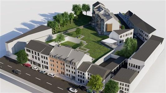 Residenz Lambertus Eupen - Hisselsgasse - 3. Etage - App.3.3 - 72.34 m² - 1 SZ - 4700 Eupen, Belgien