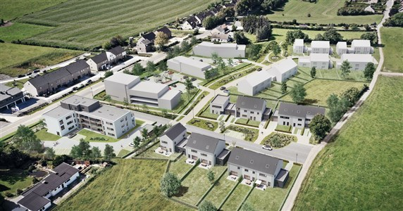 Moderne Wohnung in attraktiven Neubauviertel (Wohnung A1.2) - 4837 Baelen, Belgien