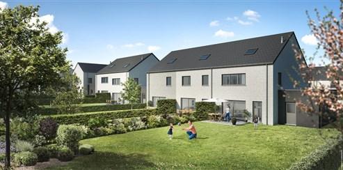 Familienfreundliche Wohnhäuser in Neubauviertel (Lot 3)