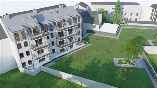 Residenz Lambertus Eupen - Hisselsgasse - 1. Etage - App.1.3 - 93,21 m² - 2 SZ - 4700 eupen, Belgien