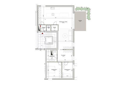 Residenz Solaia auf der Roll - Appartement Nr. 02 inklusive Garagenstellplatz