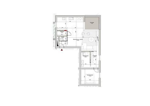 Residenz Solaia auf der Roll - Appartement Nr. 04 inklusive Garagenstellplatz