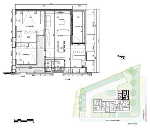 """NEUBAUWOHNUNGEN - Quartier du Bailou """" RESIDENZ L'EAU ROUGE"""". Optimal für jede Lebenssituation – Wohnungen mit 1, 2 oder 3 Schlafzimmern in einzigartiger Lage."""