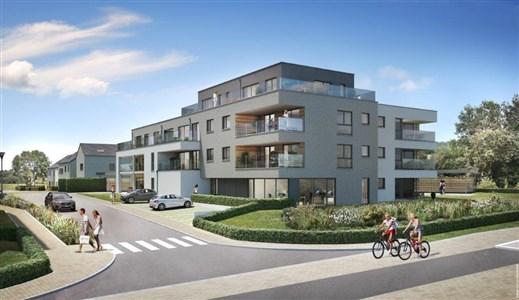 """NEUBAUWOHNUNGEN - Quartier du Bailou """" RESIDENZ L'EAU ROUGE"""". Optimal für jede Lebenssituation – Wohnungen mit 1, 2 oder 3 Schlafzimmern in einzigartiger Lage. - 4837 Baelen, Belgien"""
