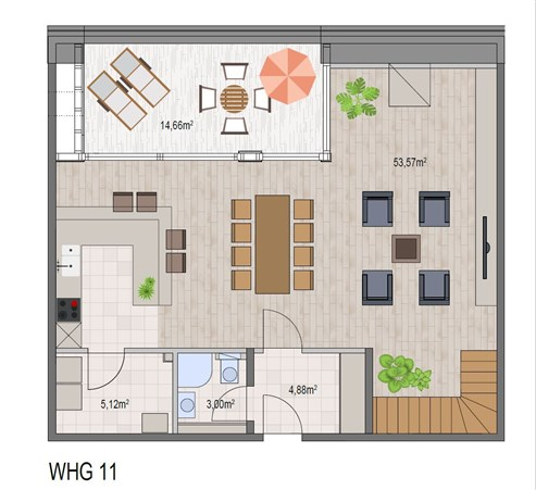 KETTENISER WIESEN –ein zeitloses Wohnerlebnis und Luxus für einen unbeschwerten Alltag: 12 ansprechende, zeitgenössische Wohnungen, teilweise als Duplex konzipiert, mit Terrasse und Garten / oder Balkon und Innenparkplatz.