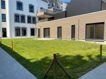 Appartement mit Garten mitten im Stadtzentrum - 4700 Eupen, Belgien