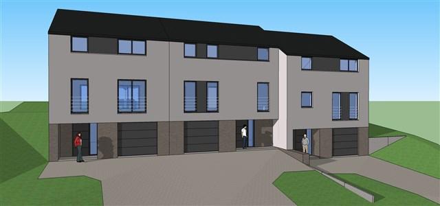 Neubau 2018! Ihr neues schlüsselfertiges EFH als Reihenmittel-oder Eckhaus auf sonnigem Grund und familienfreundlicher Lage. - 4850 Plombières, Belgien