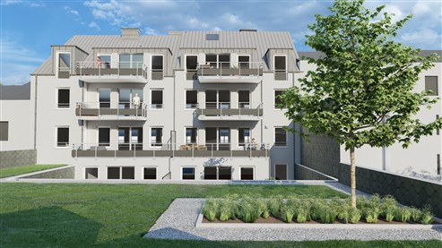 Neubauprojekt  LAMBERTUS, Eupen - Werthplatz-Hisselsgasse - Appartement Nr.0.2 am