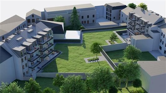 Neubauprojekt  LAMBERTUS, Eupen - Werthplatz-Hisselsgasse - Appartement Nr.0.2 am - 4700 Eupen, Belgien