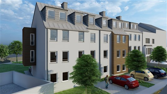 Lambertus Eupen Residenz - Werthplatz-Hisselsgasse - Appart.n ° 1,2 - 101,52 m² - - 4700 Eupen, Belgien