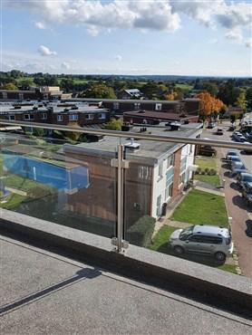 Top moderne, barrierefreie Wohnung mit großzügiger Sonnenterrasse und tollem Ausblick.