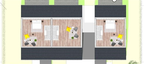 NEUBAUPROJEKT- Doppelhaushälften und Einfamilienhaus inklusive Fernblick und Wohlfühlgarantie in naturverbundener und verkehrstechnischer optimaler Lage!