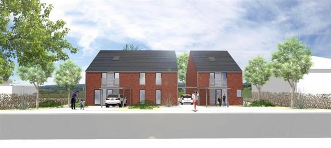 NEUBAUPROJEKT- Doppelhaushälften und Einfamilienhaus inklusive Fernblick und Wohlfühlgarantie in naturverbundener und verkehrstechnischer optimaler Lage!  - 4711 Walhorn, Belgien