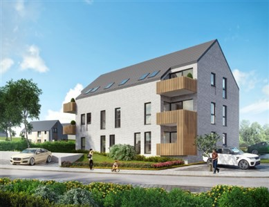 Appartementen met 59,38m²  in Montzen - 4850 Montzen, Belgien