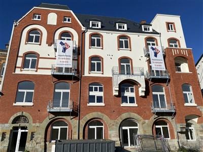 Alte Post Herbesthal:Wohnung mit Mezzanine Nr. 2B/1: 98m²/140.000€ / 2 SZ - 4710 Lontzen, Belgien