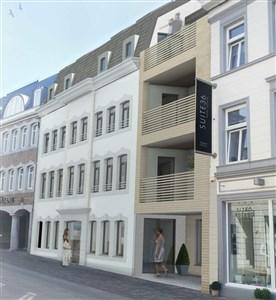 Hochwertige Geschäftsfläche 75m² in neuer Residenz - mitten im Zentrum - 4700 Eupen, Belgien