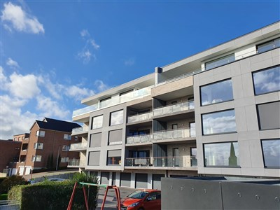 Traumhafte Wohnung in exklusivem Neubau inklusive Garage und Terrasse in bester verkehrstechnischer Lage (B-NL-D) - 4720 Kelmis, Belgien
