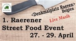"""Ostbelgien - 1. Street Food Event in Raeren - """"Street Food"""" ist die Lebensfreude pur!"""