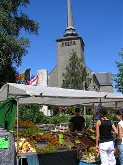 Ostbelgien - Markt in St.Vith