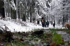 Ostbelgien - Traditionelle Winterwanderung am 2. Weihnachtstag