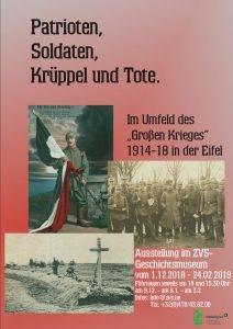 """Ostbelgien - Ausstellung """"Patrioten, Soldaten, Krüppel und Tote"""""""