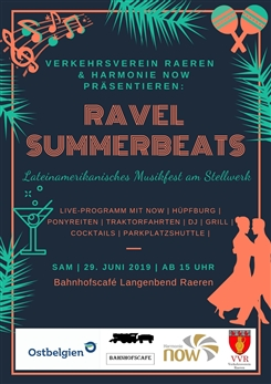 Ostbelgien - Ravel Summerbeats - Lateinamerikanisches Musikfest am Stellwerk