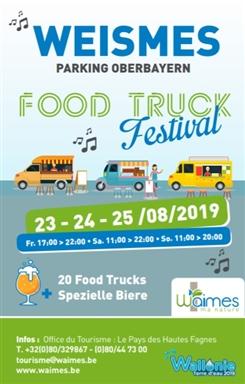 Ostbelgien - Erstes Street Food Festival in Waimes (Belgien)