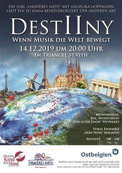 Ostbelgien - DESTIINY - Wenn Musik die Welt bewegt