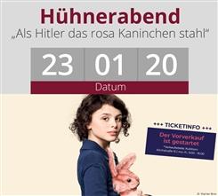 Ostbelgien - Hühnerabend mit ´Als Hitler das rosa Kaninchen stahl´