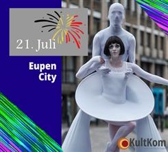 Ostbelgien - « Kultur-Häppchen » zum Nationalfeiertag in Eupen
