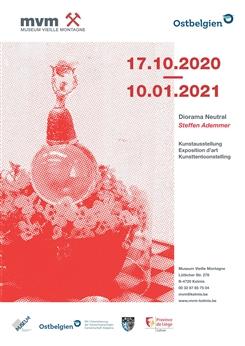 Ostbelgien - Diorama Neutral. Kunstausstellung Steffen Ademmer
